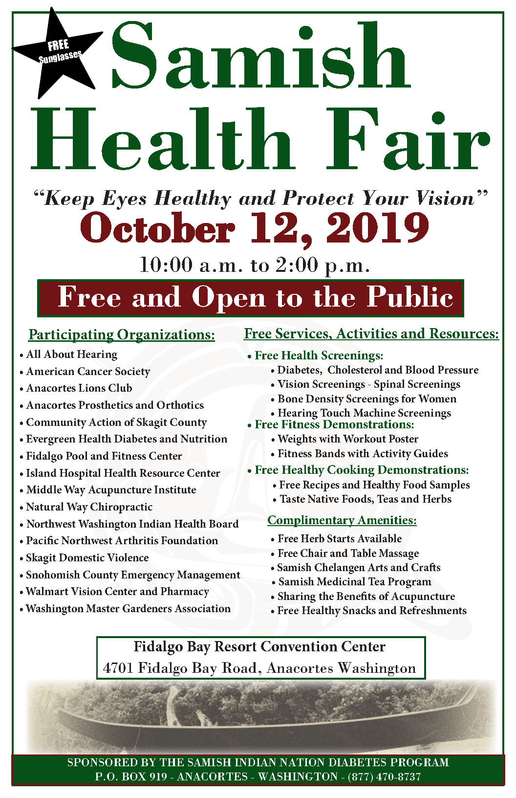 Samish Health Fair 2019